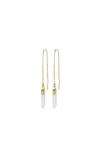 Boucles d'oreilles - CRYSTAL DROP OR