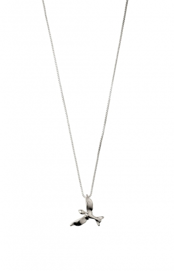 Collier - AIR BIRD ARGENT