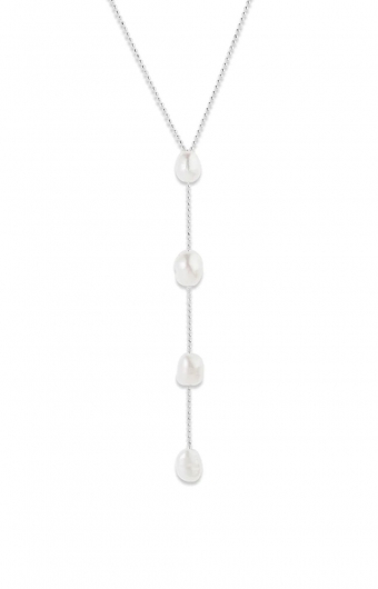 Collier - RAN PEARL ARGENT