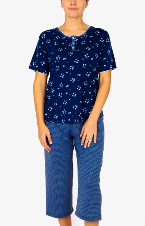 Pyjama capri - PLUMBAGO