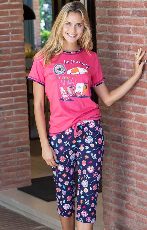 Pyjama capri - BE YOURSELF