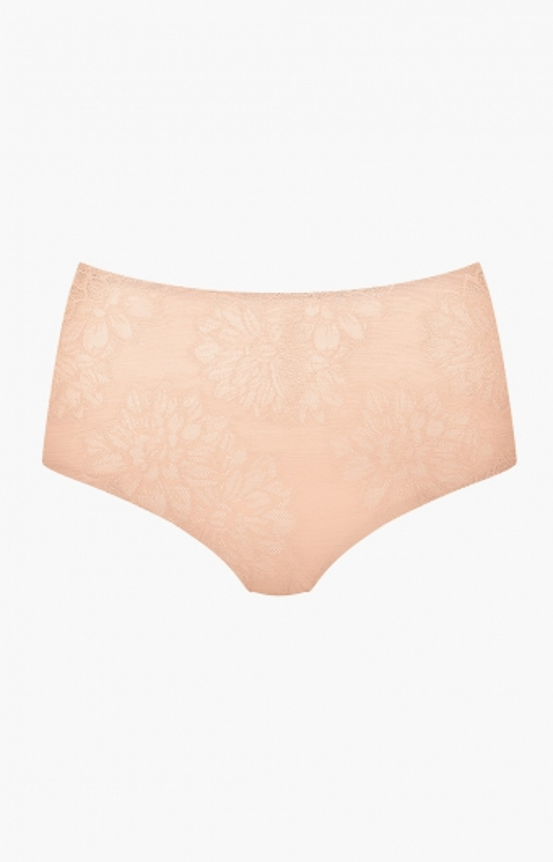 Culotte taille haute - FLORAL