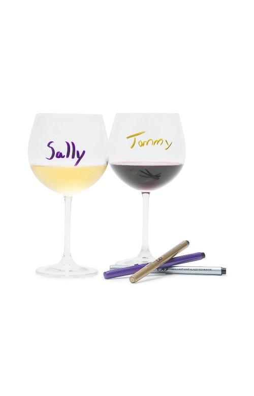 Marqueurs verre à vin - BRILLIANT
