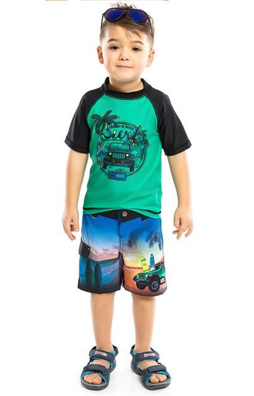 T-shirt - RASHGUARD (2-6X)