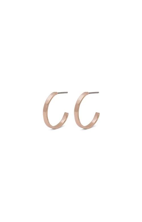 Boucles d'oreilles - BELLE ROSE GOLD 16mm