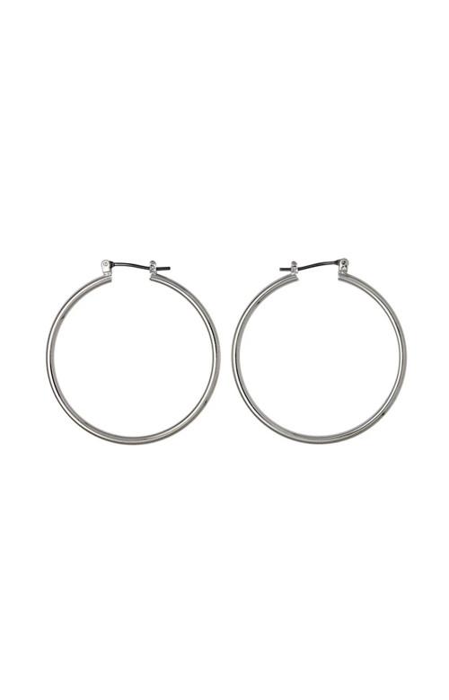 Boucles d'oreilles - SILVER HOOPS 40mm