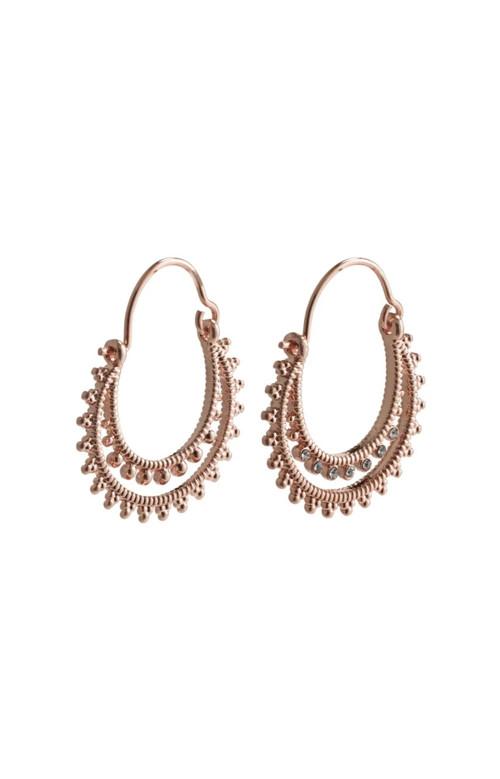 """Boucles d""""oreilles - SIGNE ROSE GOLD"""