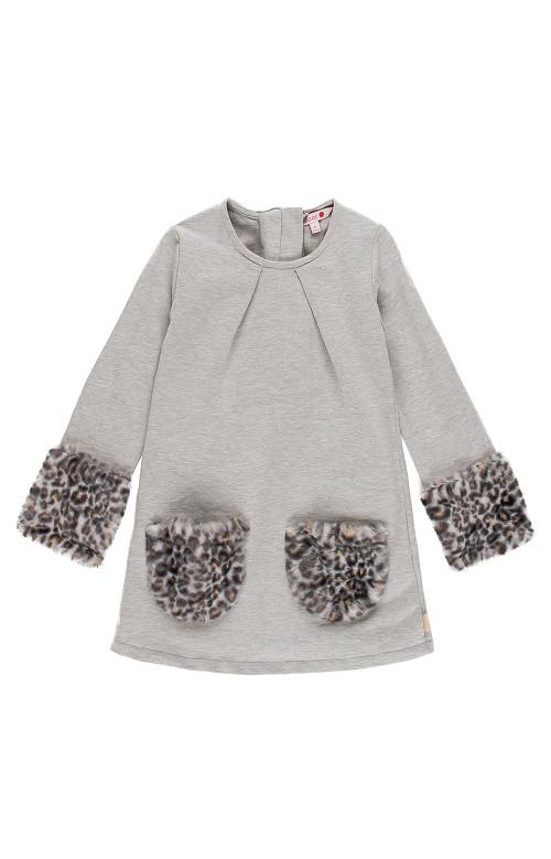 Robe - LEOPARD DRESS (4-12)