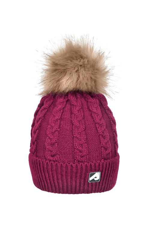 Tuque d'hiver avec pompon détachable - CASSIS 2