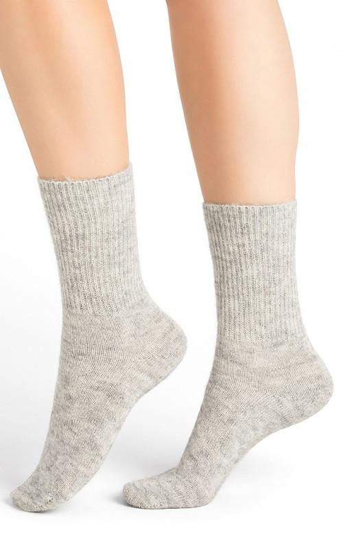 Chaussettes laine alpaga - UNIE