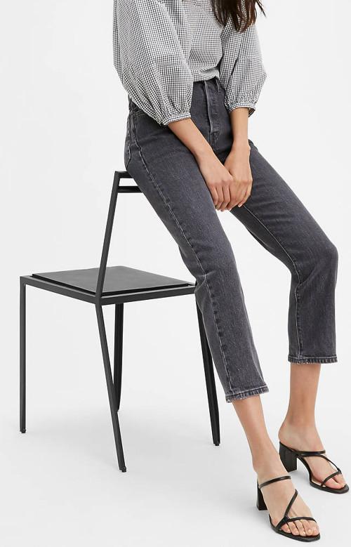 Jeans - 501ORIGINAL STRETCH CROPPED
