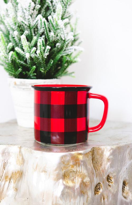 Tasse à carreaux - CHALET