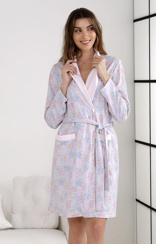 Robe de chambre courte - PINKIE
