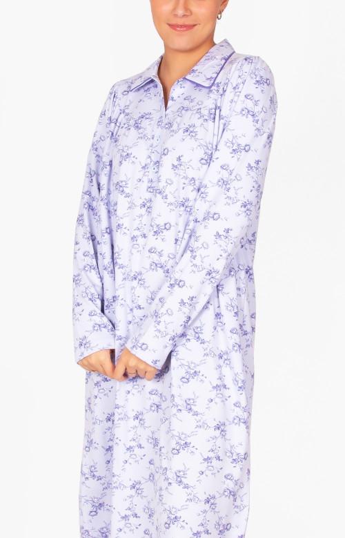 Robe de nuit longue - DOUCEUR MATINALE
