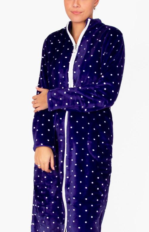 Robe de nuit longue - MINUIT