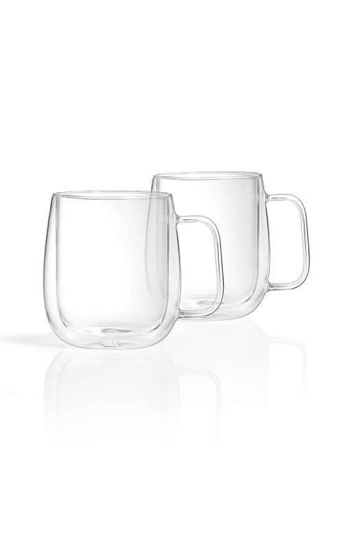 Ensemble de 2 tasses à parois doubles