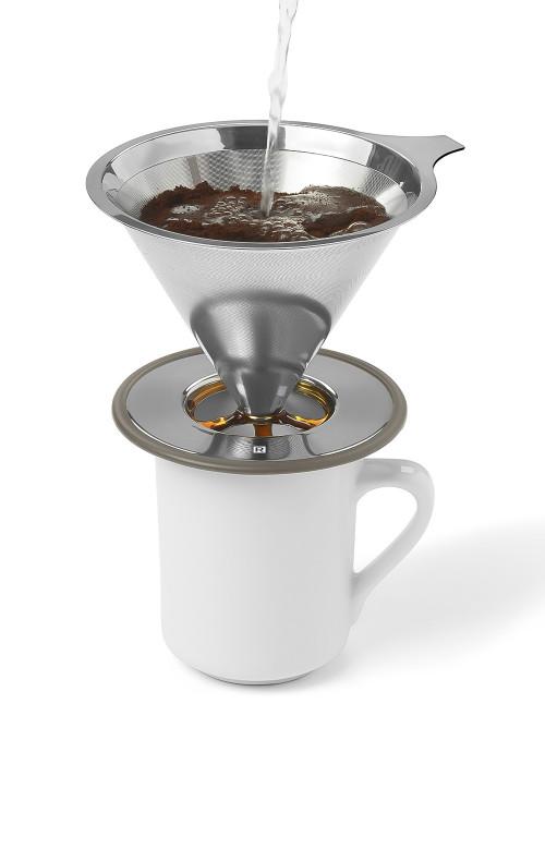 Filtre pour cafetière verticale