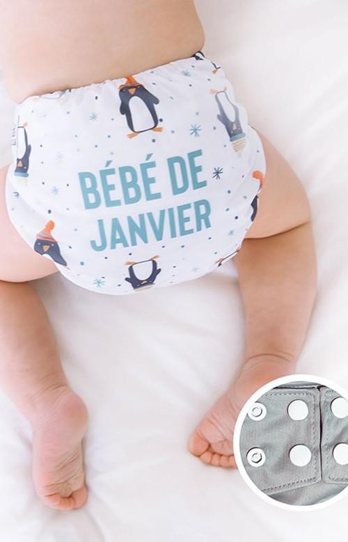 Couche lavable - JANVIER