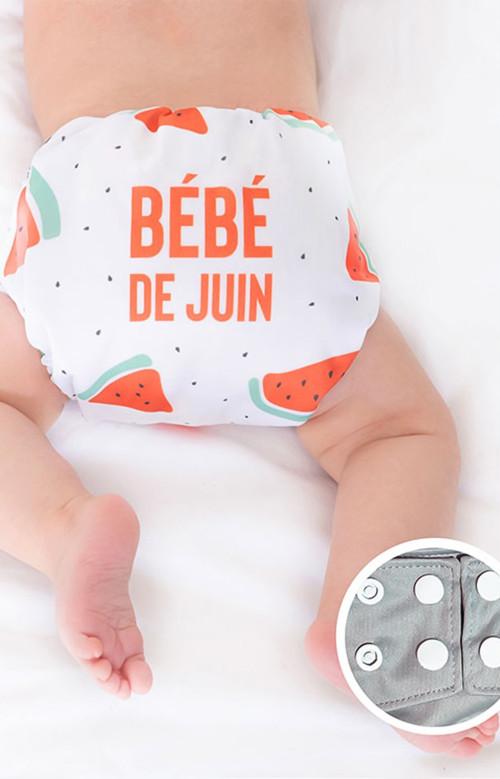 Couche lavable - JUIN