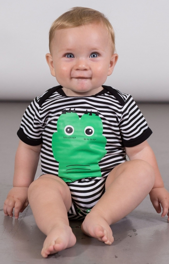 Barboteuse - CROCO CRAQUANT (3-24M)