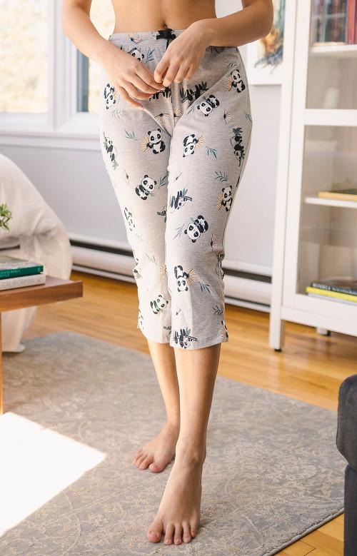 Pantalon de pyjama capri - PANDAS