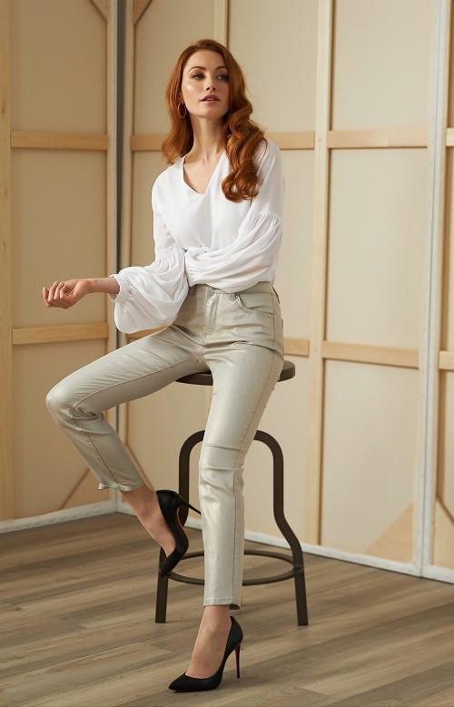 Jeans métallique - CHIARRA
