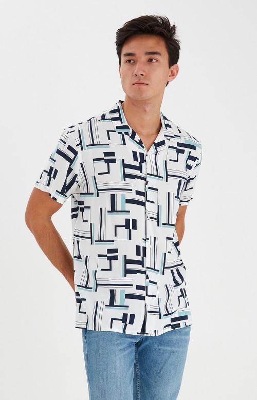 Chemise à manche courte - BRAIDEN