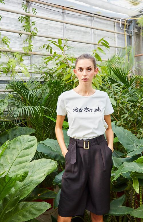 T-shirt - TU ES TRÈS JOLIE