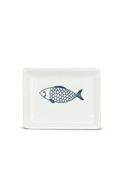Petite assiette rectangulaire - FISH