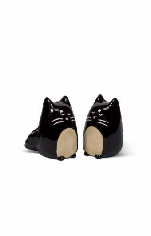Salière & poivrière - BLACK CATS