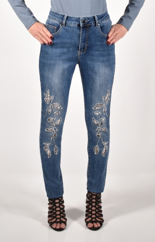 Jeans - FLORAL LACE