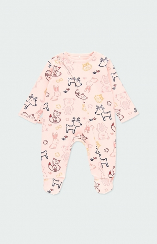 Pyjama pour fille - ANIMAUX (1-18M)