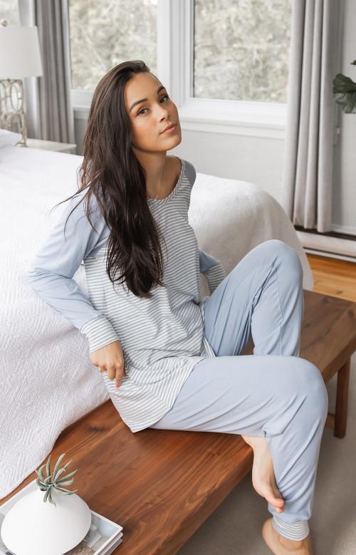 Pyjama à pantalons longs - RAYURELLE