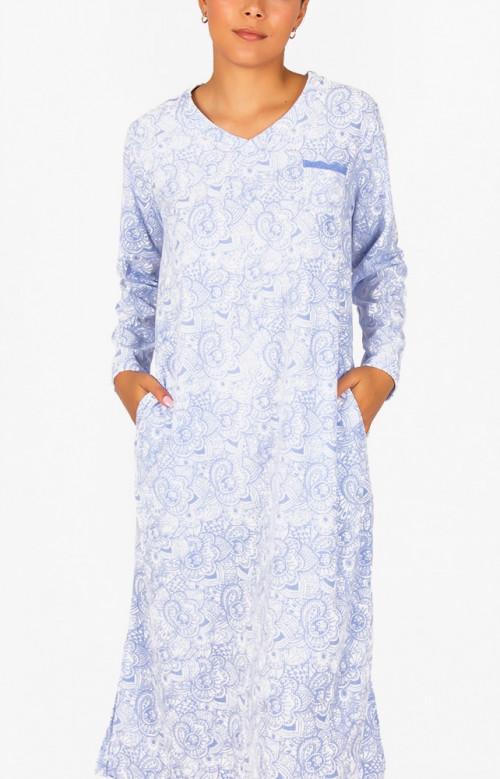 Robe de nuit longue - ALEXANDRA