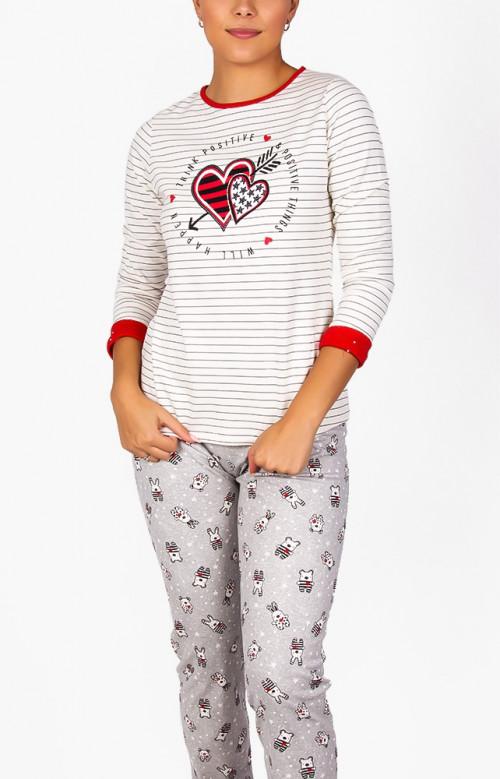 Pyjama à pantalon long - THINK POSITIVE