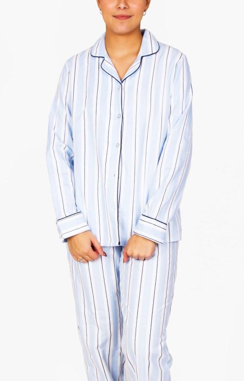 Pyjama à pantalon long en flanelle - PIERROT