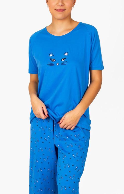 Pyjama capri - BLÜ