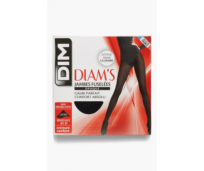 Collant jambes fuselées opaques