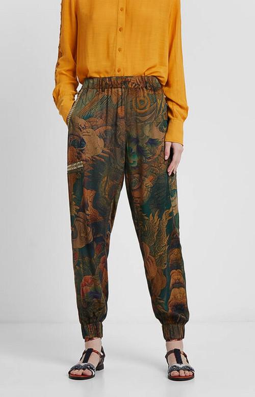 Pantalon - CARGO FLORAL